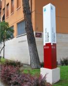 segnaletica esterna università